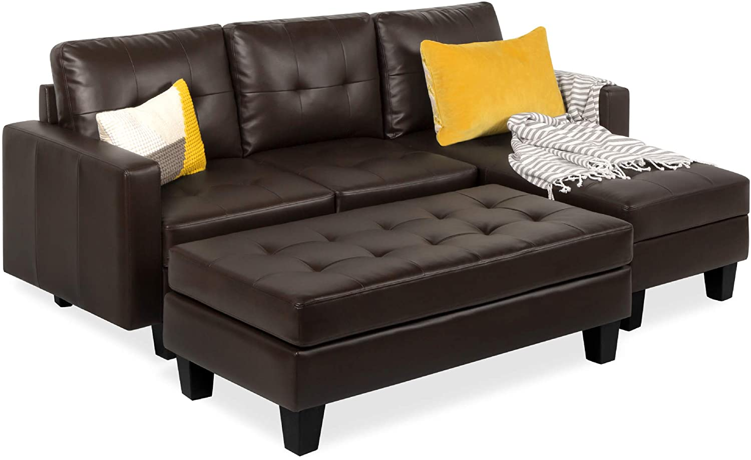 Living room sets on sale, Best choice products 3 Seat