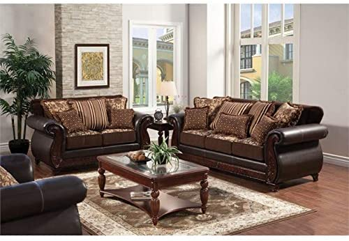 lozano furniture 3 piece living room sets burgundy