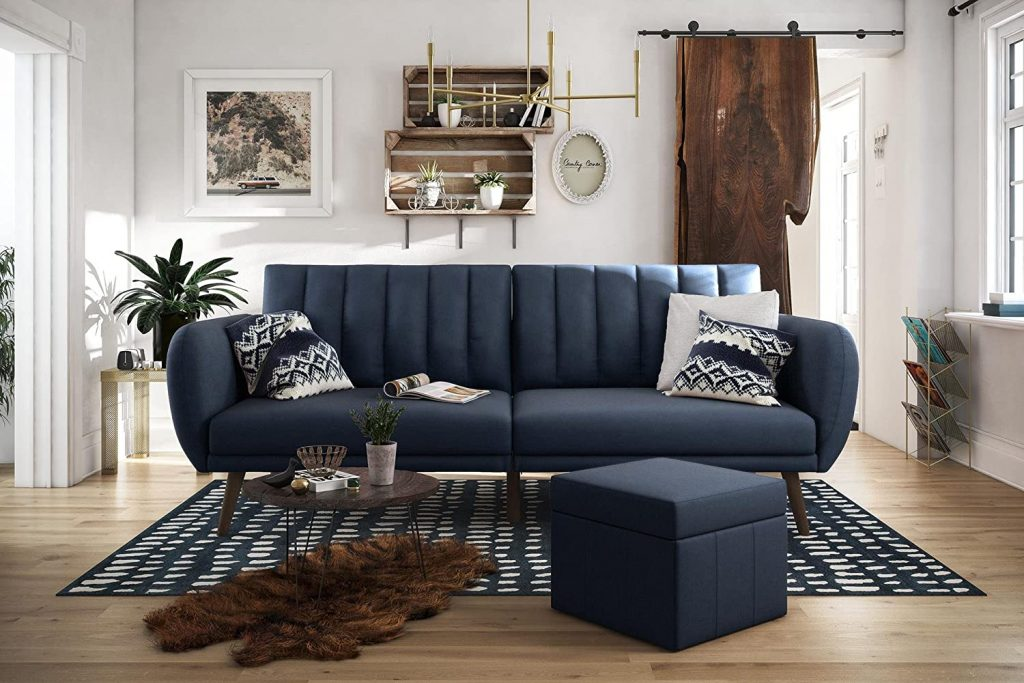 Novogratz Brittany Sofa Futon for living room sets on sale
