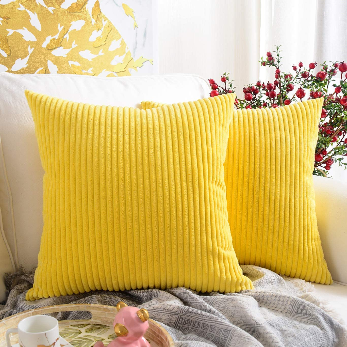 Cheap living room sets under $200 Square Throw Pillow