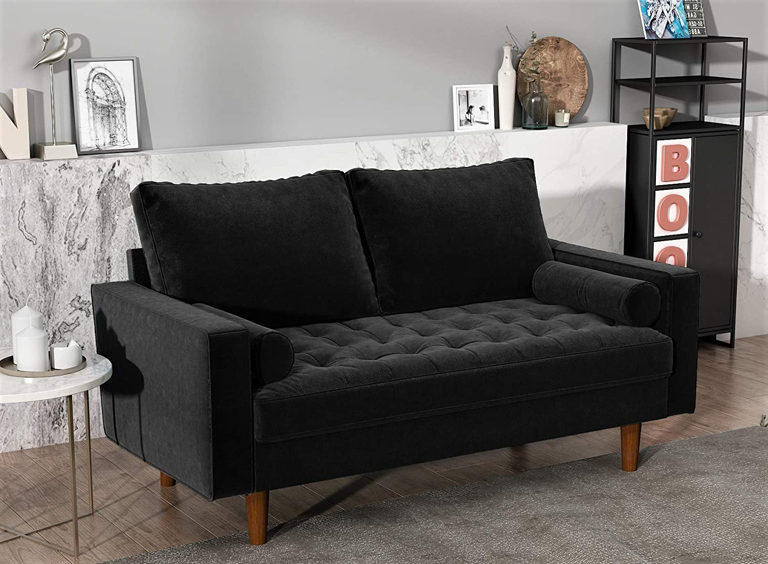 faux leather loveseat under $200