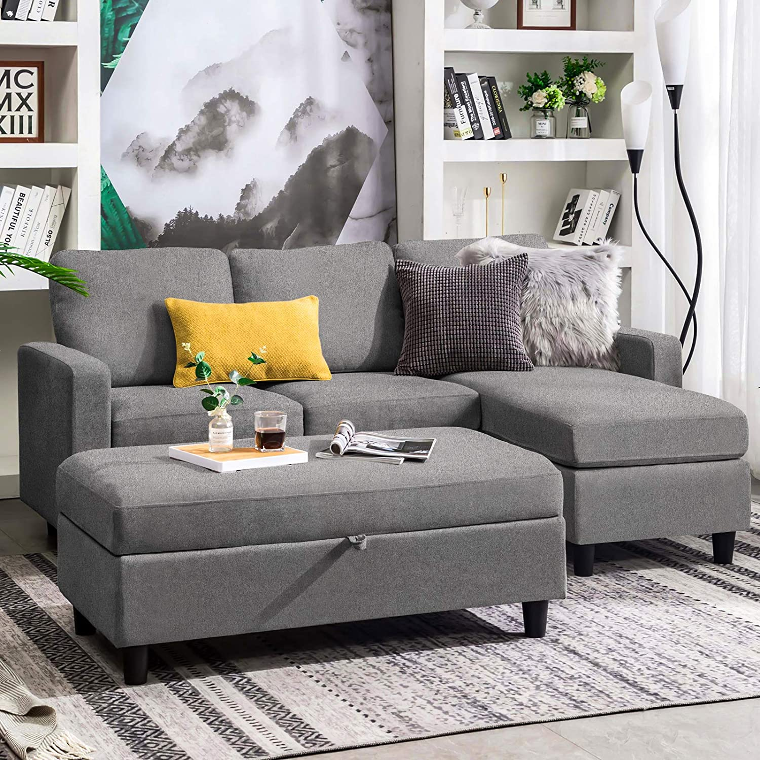 10 Best Sectional Couches Under $600 in 2021 – Emily Reviews