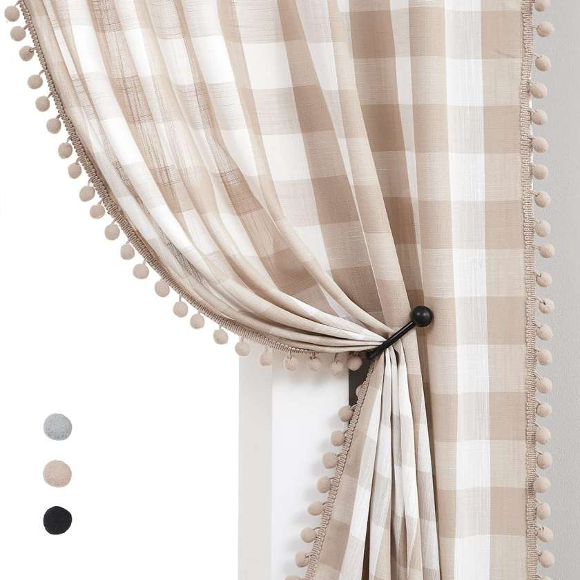 10 Best Curtain Fabric For Living room Treatmentex tan buffalo curtains for living room