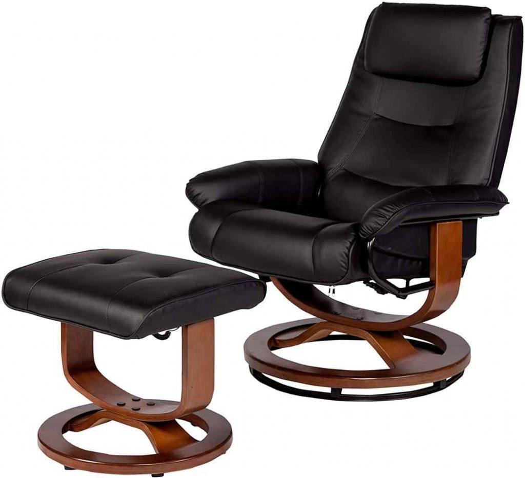 Best Recliner sofa under 500 RelaxZen massage recliner black