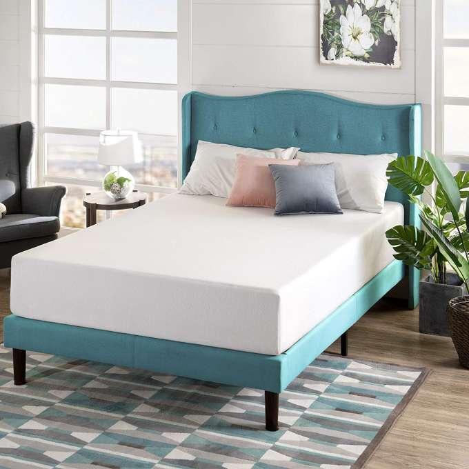 Best queen mattress under 500 Zinud12 inch green