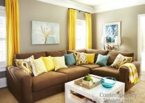 Yellow And Brown Living Room   Top 3 Ideas 2021
